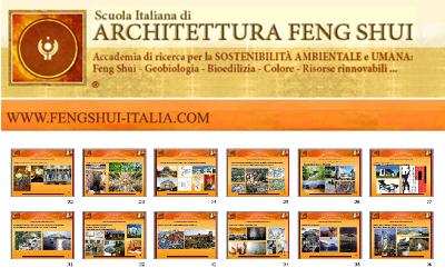 La scuola italiana di architettura Feng Shui - Globarch bioarchitettura - architetto Ermenegildo Anoja